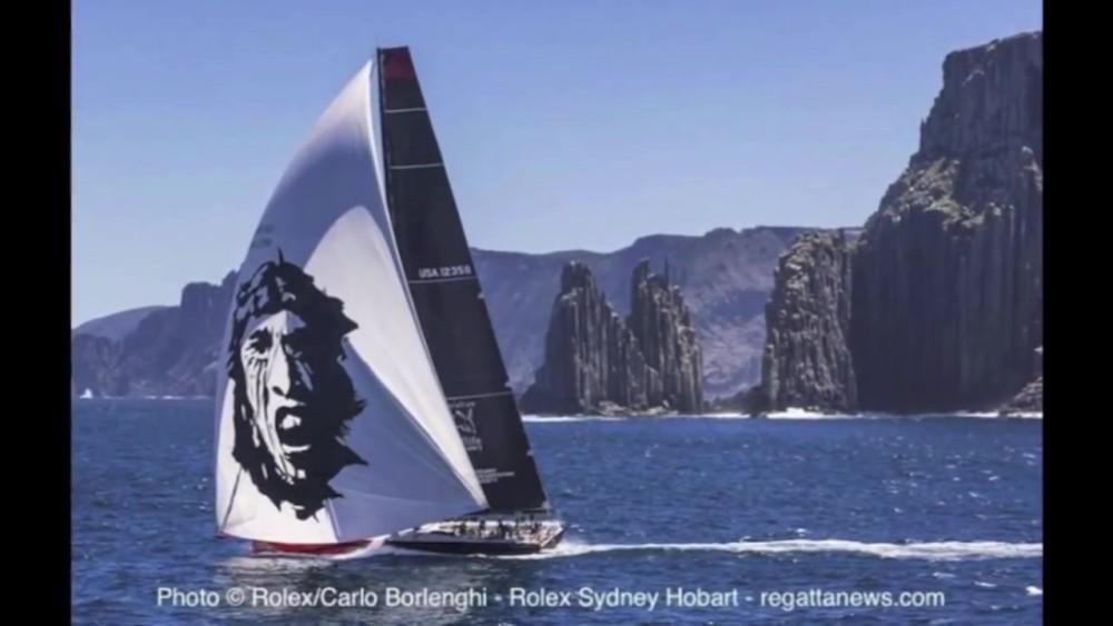 Comanche's Rolex Sydney Hobart 2014 Race